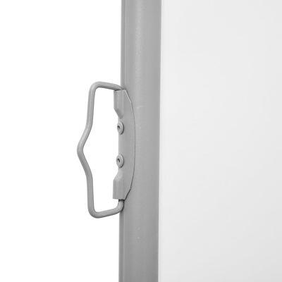 vidaXL Auvent latéral rétractable Crème 140 x 1000 cm