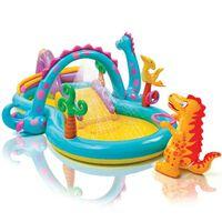 Intex Piscine gonflable Dinoland Play Center 333x229x112 cm 57135NP