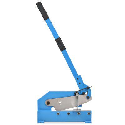 vidaXL Cisaille à levier 300 mm Bleu,
