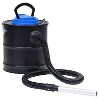 vidaXL Aspirateur à cendres avec filtre HEPA 1200 W 20 L Acier