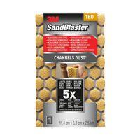 Eponge abrasive 3M 'SandBlaster Ultra Flexible' P180 11,4 cm