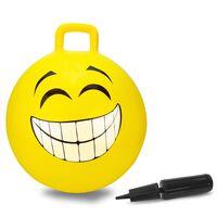 Jamara Balle rebondissante Smile 450 mm Jaune
