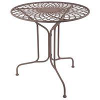 Esschert Design Table Métal Style Old English MF007