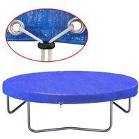 vidaXL Housse de trampoline PE 360-367 cm 90 g/m²