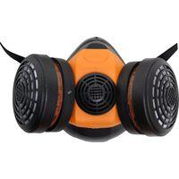Demi-masque de protection respiratoire Skandia avec 2 filtres A1