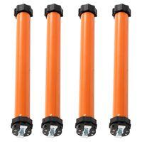 vidaXL Moteurs tubulaires 4 pcs 10 Nm