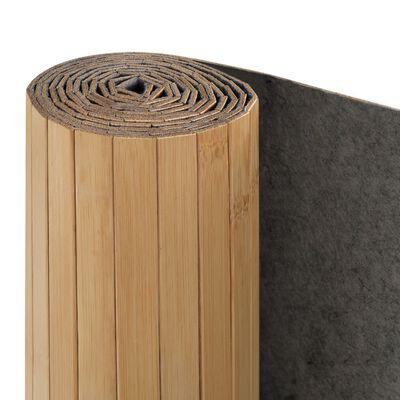 vidaXL Cloison de séparation Bambou 250 x 165 cm Naturel