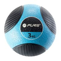 Pure2Improve Ballon médicinal 3 kg Bleu