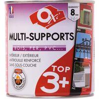 Peinture satinée multi-supports TOP3 - 2.5 L - Crème - OXI