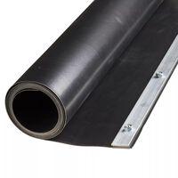 Feuille de barrière de racine Nature 0,7 x 5 m HDPE Noire 6030227