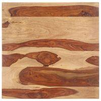 vidaXL Dessus de table Bois solide 25-27 mm 60x60 cm