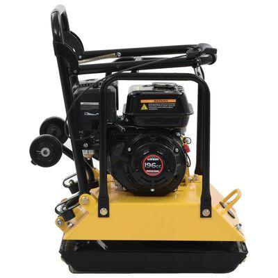 vidaXL Compacteur à plaque vibrante 196 CC 85 kg 15,5 Kn,