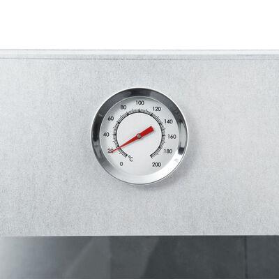 vidaXL Fumoir de four à BBQ avec 1 kg de copeaux de bois 44,5x29x124cm
