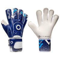 Elite Sport Gants de gardien de but de football Brambo Taille 7 Bleu