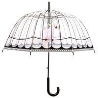 Esschert Design Parapluie transparent Cage d'oiseaux