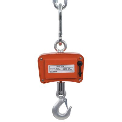 vidaXL Balance à grue électronique 300 kg