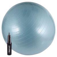 Avento Ballon de fitness avec pompe 65 cm Bleu 41VV-LBL