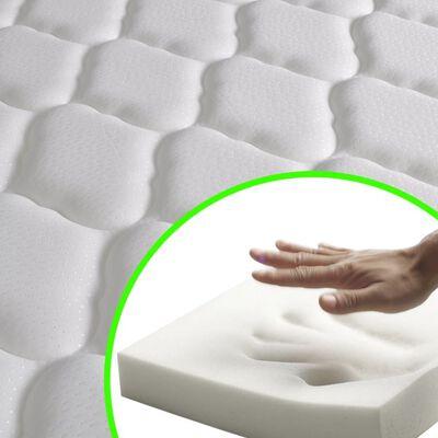 vidaXL Matelas en mousse à mémoire de forme 200 x 120 x 17 cm
