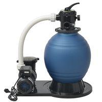 vidaXL Pompe de filtration à sable 1000 W 16800 l/h XL
