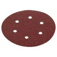 KREATOR - Lot de 5 disques auto-aggripants - grain 240 -Ø 225 mm