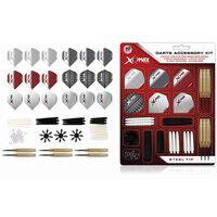 XQmax Darts Kit d'accessoires fléchettes 90 pcs Pointe acier 23g QD7000700