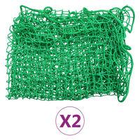 vidaXL Filets pour remorque 2 pcs 2,5 x 4,5 m PP