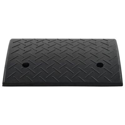 vidaXL Rampe de bordure de trottoir Caoutchouc 50x32,5x14 cm
