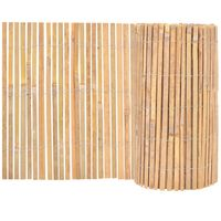 vidaXL Clôture Bambou 1000 x 50 cm