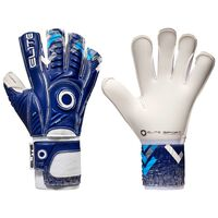 Elite Sport Gants de gardien de but de football Brambo Taille 9 Bleu