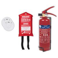 Smartwares Ensemble de sécurité contre l'incendie 4 pcs