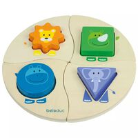 Beleduc Puzzle Funny Four 18004