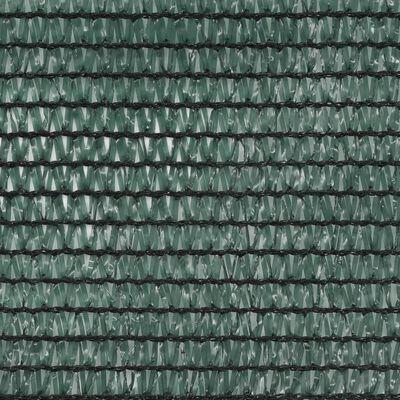 vidaXL Clôture de tennis PEHD 1,4 x 100 m Vert