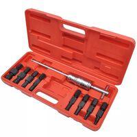 vidaXL Ensemble d'outils d'extraction de palier à trou borgne 9 pcs