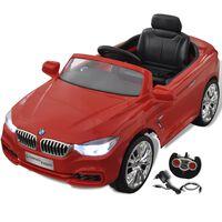 BMW Voiture enfant à batterie avec télécommande Rouge