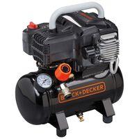 BLACK+DECKER Compresseur à air 6 L 230 V