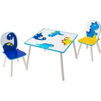 Worlds Apart Ensemble de table et de chaises 3 pcs Dinosaurs