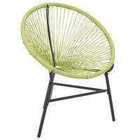 vidaXL Chaise de jardin Acapulco Résine tressée Vert
