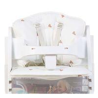 CHILDHOME Coussin de chaise haute de bébé Jersey Hearts