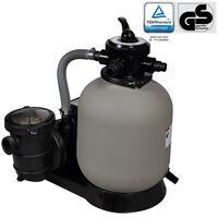 vidaXL Pompe à filtre à sable 600 W 17000 l/h