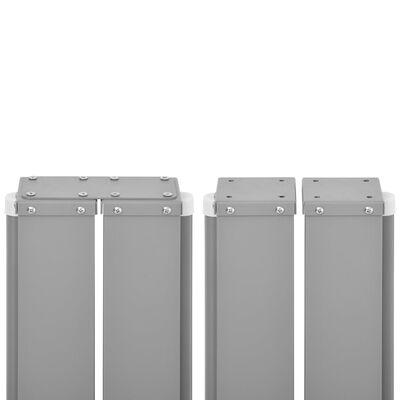 vidaXL Auvent latéral rétractable Anthracite 170 x 1000 cm