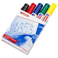 edding Marqueurs indélébiles 5 pcs Multicolore 800
