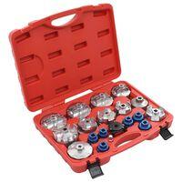 vidaXL Set de bouchons de filtre à huile 19 pcs