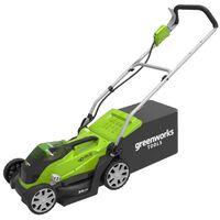 Greenworks Tondeuse à gazon sans batterie 40 V G40LM35 2501907