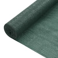 vidaXL Filet brise-vue Vert 3,6x50 m PEHD 75 g/m²