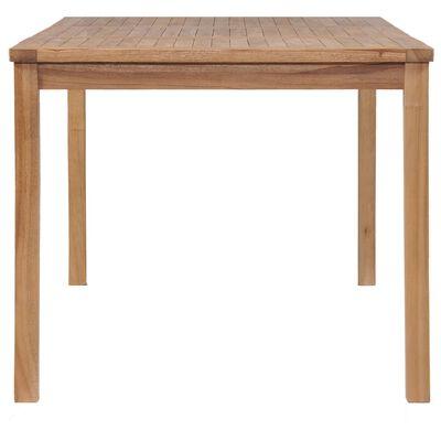 vidaXL Table de jardin 150x90x77 cm Bois solide de teck