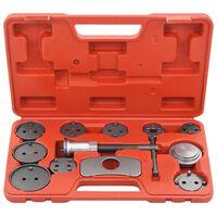 vidaXL Trousse à outils pour étriers de freins à disque 13 pcs