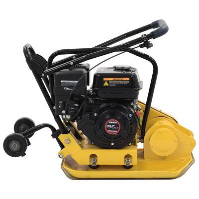 vidaXL Compacteur à plaque vibrante 196 CC 63 kg 12,1 Kn