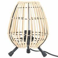 vidaXL Lampe sur pied de table Saule 60 W 20x27 cm E 27