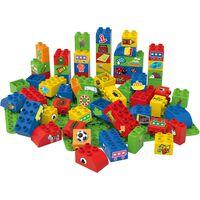 BiOBUDDi Blocs éducatifs 60 pièces et 2 plaques de base BB-0008