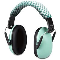 Alecto Protection auditive BV-71 pour bébés et enfants Vert et noir